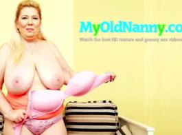 الجدة في الملابس الداخلية والجنس حقًا