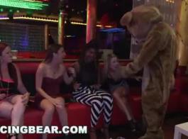 الرقص الدب في سن المراهقة علة
