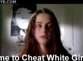 فتاة بيضاء وقحة تعطيني أفضل لعبة ضربة على الإطلاق