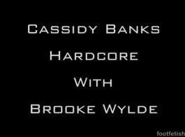 بروك وايلد هو عقد ساقيها رفعت عالية في حين أن الرجل الذي هي سرا في الحب هو حفر بوسها