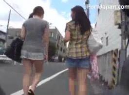 تلميذة اليابانية مارس الجنس ويممر صلب كريو خطوط سوداء