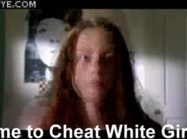 فتاة بيضاء وقحة الأحمق جميلة الجسم كبير المتشددين الشرج