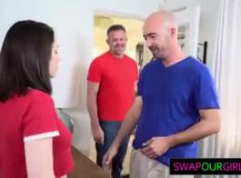 بنات بلاك يمارس الجنس مع أبي الآسيوية
