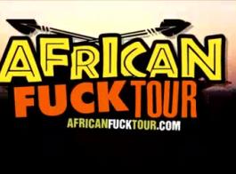 الهواة المتشددين الأفريقية مع الحمار الكبير وجولة لاتينا الغنيمة