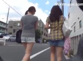 تلميذة اليابانية الحصول على ضخ وقت كبير.