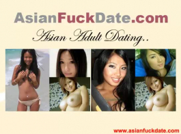 كل فتاة صينية نحيفة تحصل على حلمته مرح ومنتفخ!