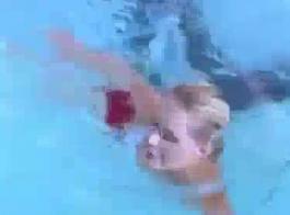 شورت حمام السباحة المقربة