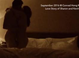 زوجان خشن يمارس الجنس مع شارع مزدحم في القرية