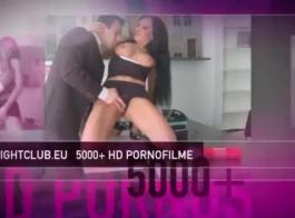 الخادمة الألمانية الصلبة تحب أن تجعل الحب مع الرقيق جنسها، وتناول نائب الرئيس له
