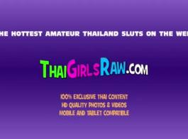 فاتنة التايلاندية لطيف يأخذ في كل ثقب صديقها تقدمها
