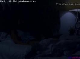 جميل أريانا ماري هو ممارسة الجنس البري مع رجل وسيم تحب الكثير.